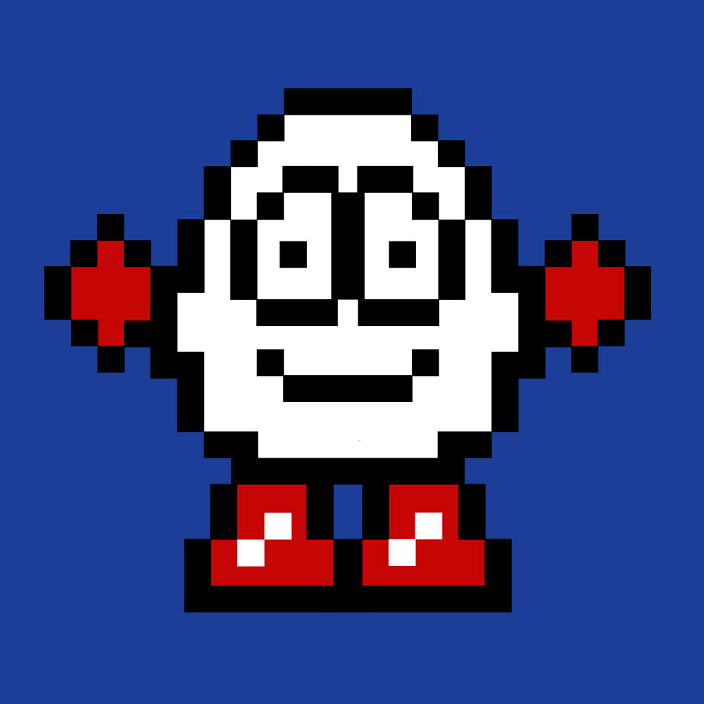 Dizzy Egg Pixel Men