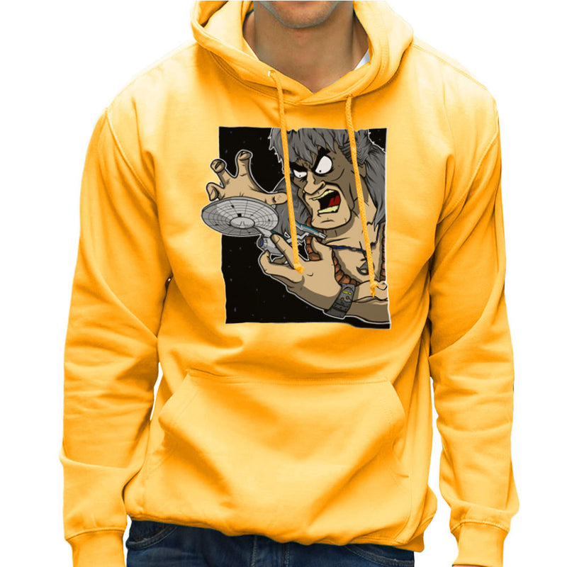 Star Trek Enterprise Khan Noonien Singh Men's Hooded Sweatshirt by DeMilburn - Cloud City 7