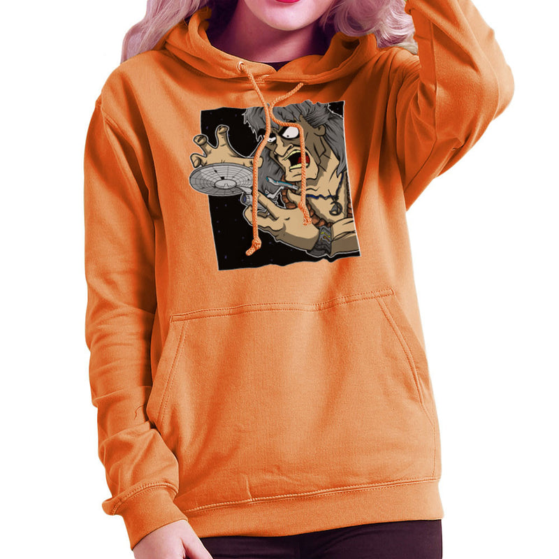Star Trek Enterprise Khan Noonien Singh Women's Hooded Sweatshirt Women's Hooded Sweatshirt Cloud City 7 - 17