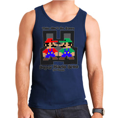 Super Mario Bros Mario Luigi The Movie  Men's Vest Men's Vest Cloud City 7 - 6
