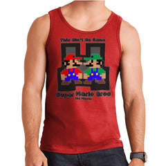 Super Mario Bros Mario Luigi The Movie  Men's Vest Men's Vest Cloud City 7 - 7