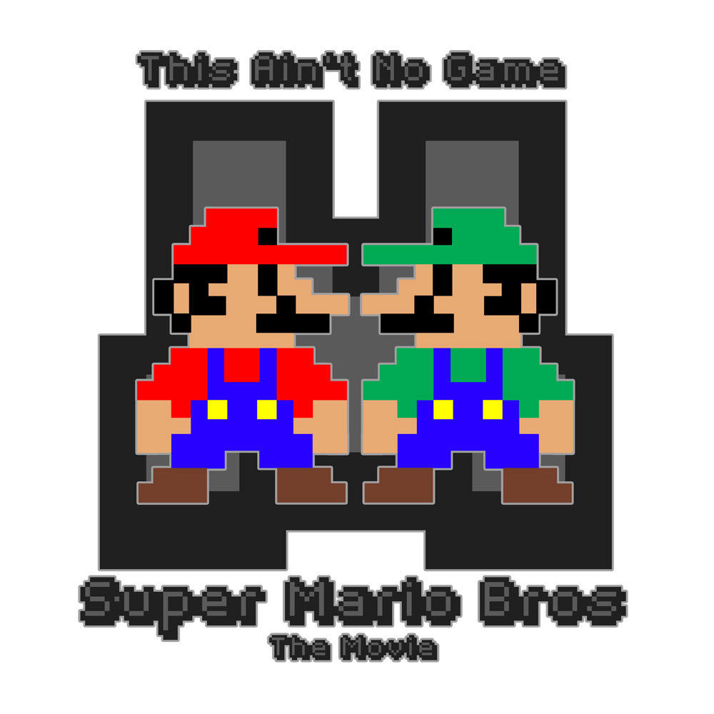 Super Mario Bros Mario Luigi The Movie  Men