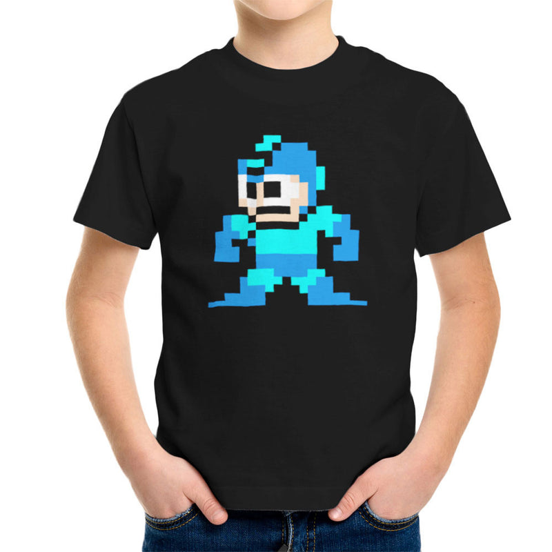 Megaman Pixel Kid's T-Shirt Kid's Boy's T-Shirt Cloud City 7 - 2