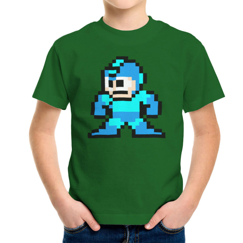 Megaman Pixel Kid's T-Shirt Kid's Boy's T-Shirt Cloud City 7 - 13