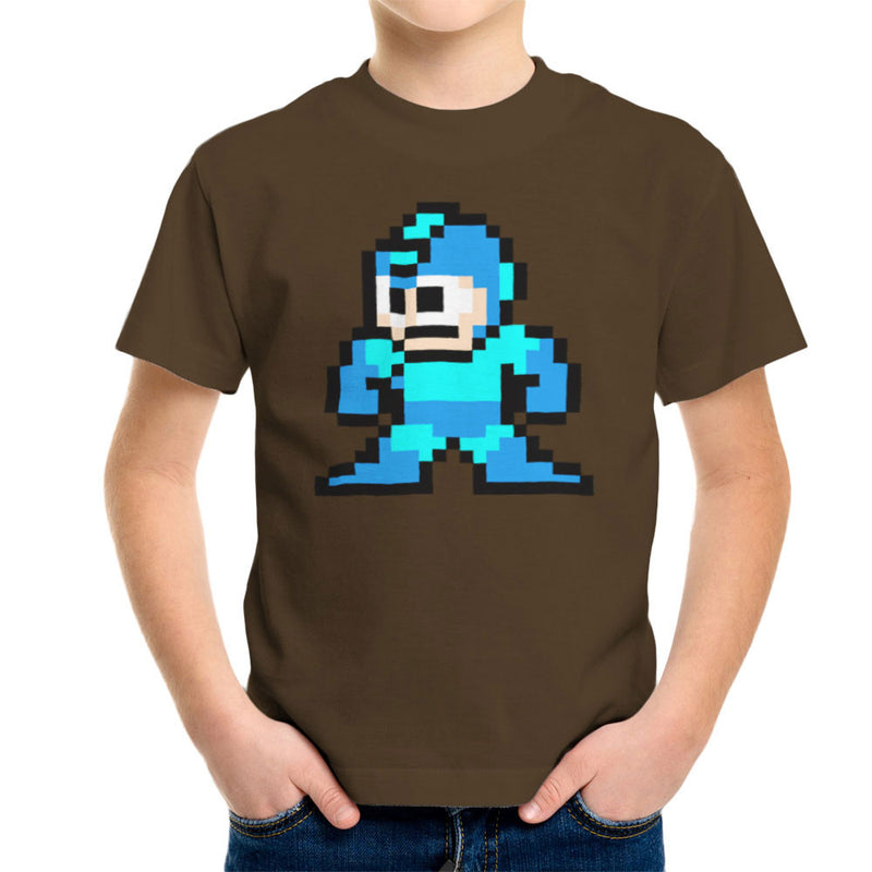 Megaman Pixel Kid's T-Shirt Kid's Boy's T-Shirt Cloud City 7 - 12