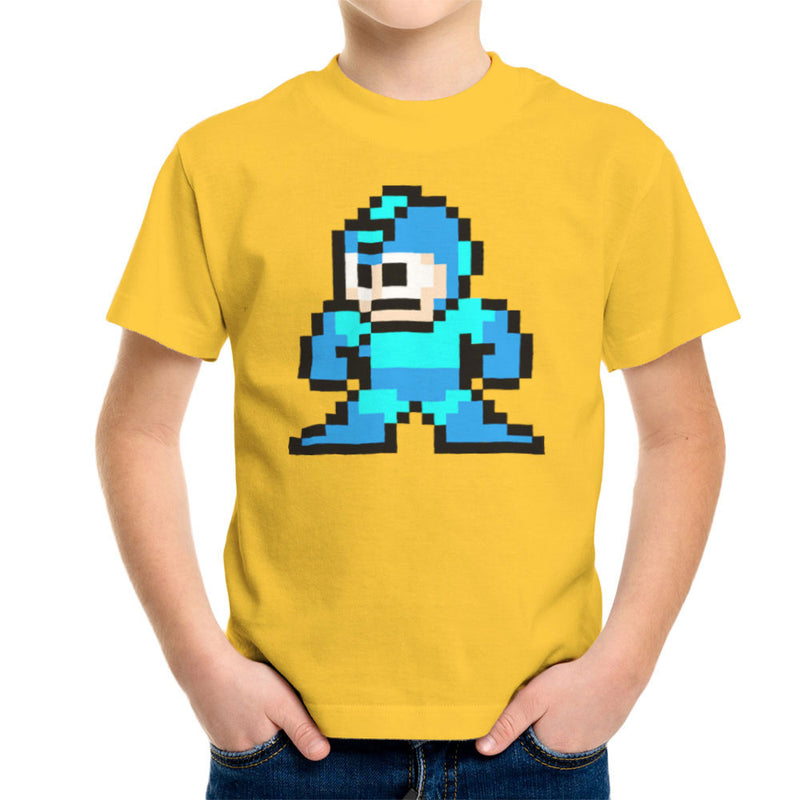 Megaman Pixel Kid's T-Shirt Kid's Boy's T-Shirt Cloud City 7 - 17