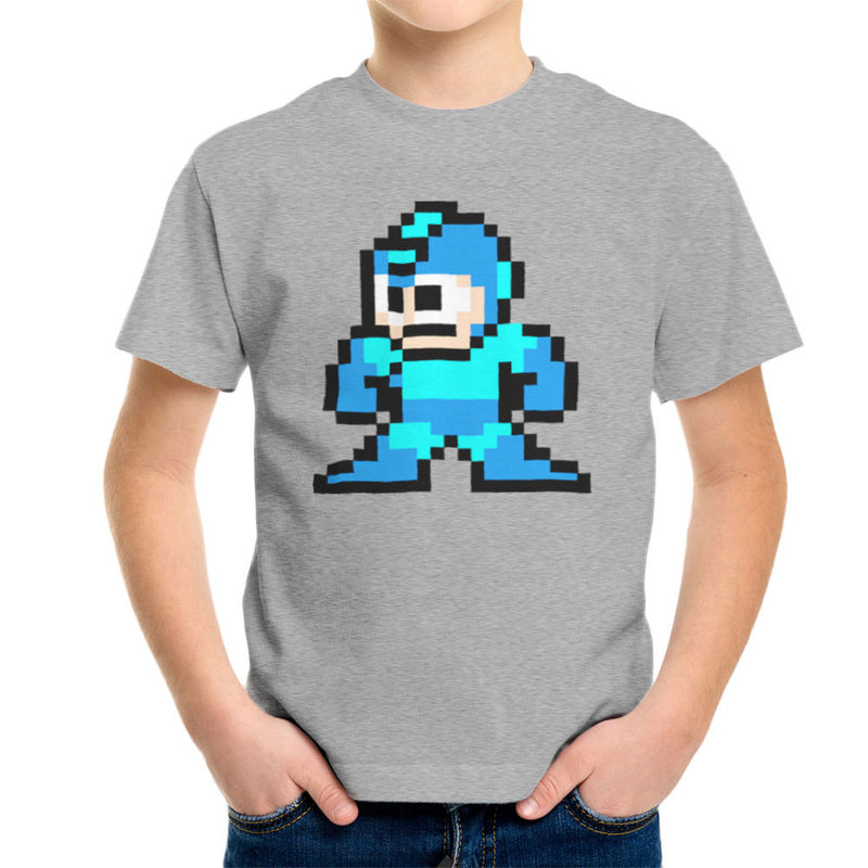 Megaman Pixel Kid's T-Shirt Kid's Boy's T-Shirt Cloud City 7 - 5