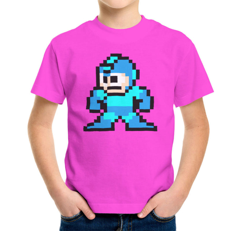 Megaman Pixel Kid's T-Shirt Kid's Boy's T-Shirt Cloud City 7 - 19