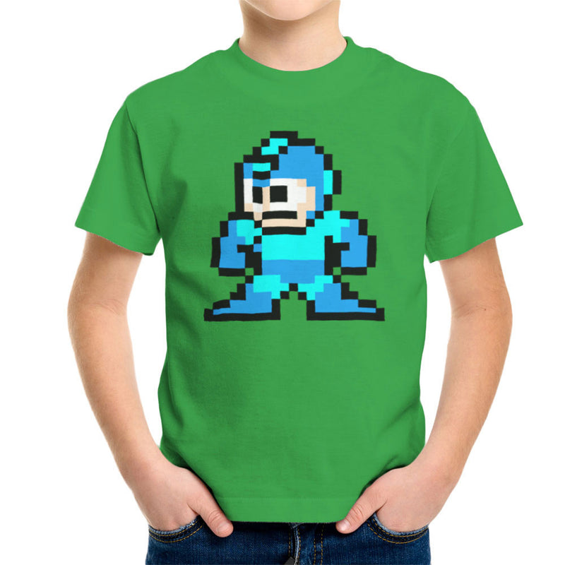 Megaman Pixel Kid's T-Shirt Kid's Boy's T-Shirt Cloud City 7 - 14