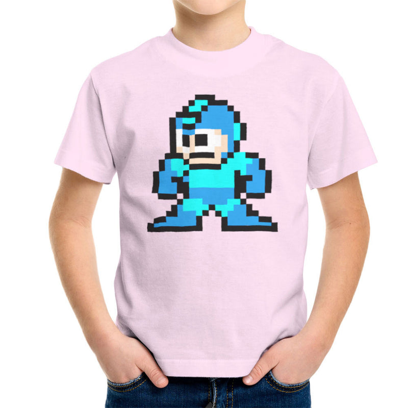 Megaman Pixel Kid's T-Shirt Kid's Boy's T-Shirt Cloud City 7 - 20