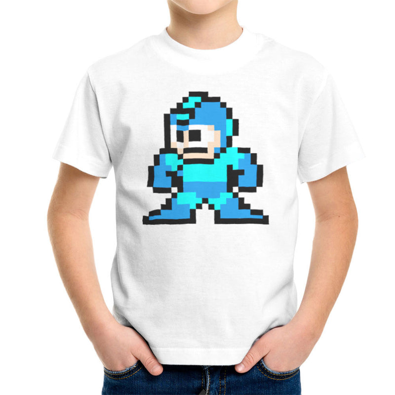 Megaman Pixel Kid's T-Shirt Kid's Boy's T-Shirt Cloud City 7 - 6