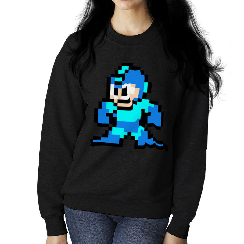 Megaman Pixel Women's Sweatshirt Women's Sweatshirt Cloud City 7 - 2