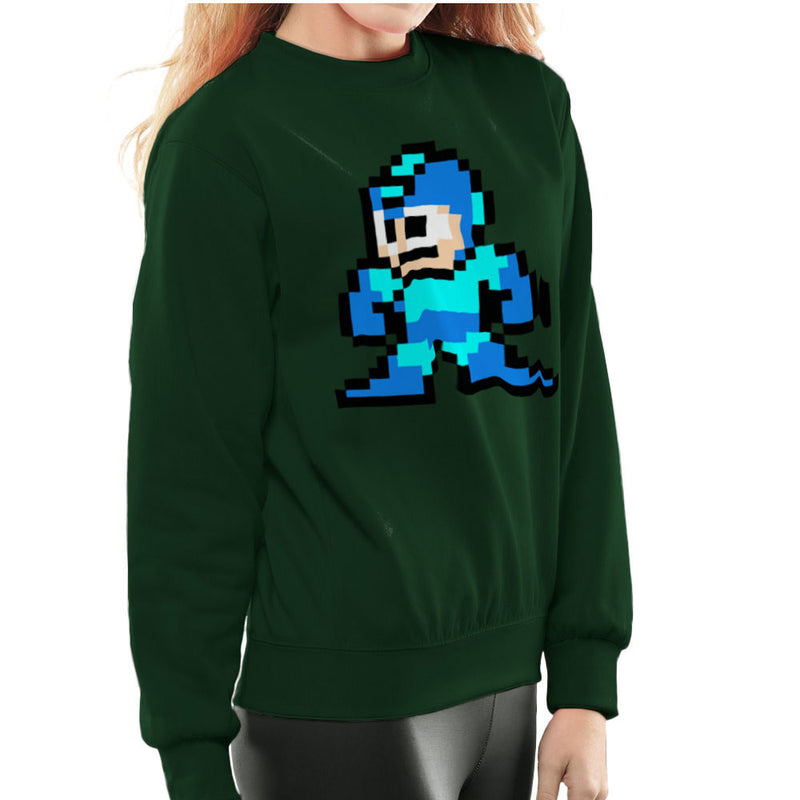 Megaman Pixel Women's Sweatshirt Women's Sweatshirt Cloud City 7 - 13