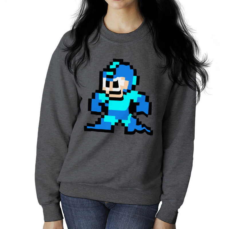 Megaman Pixel Women's Sweatshirt Women's Sweatshirt Cloud City 7 - 4