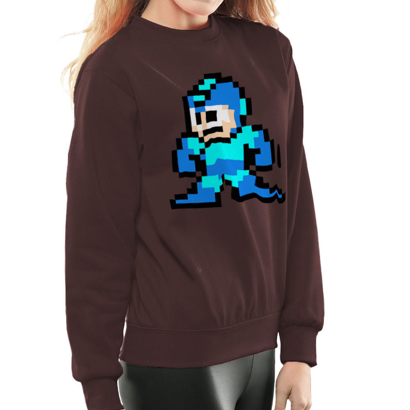 Megaman Pixel Women's Sweatshirt Women's Sweatshirt Cloud City 7 - 12