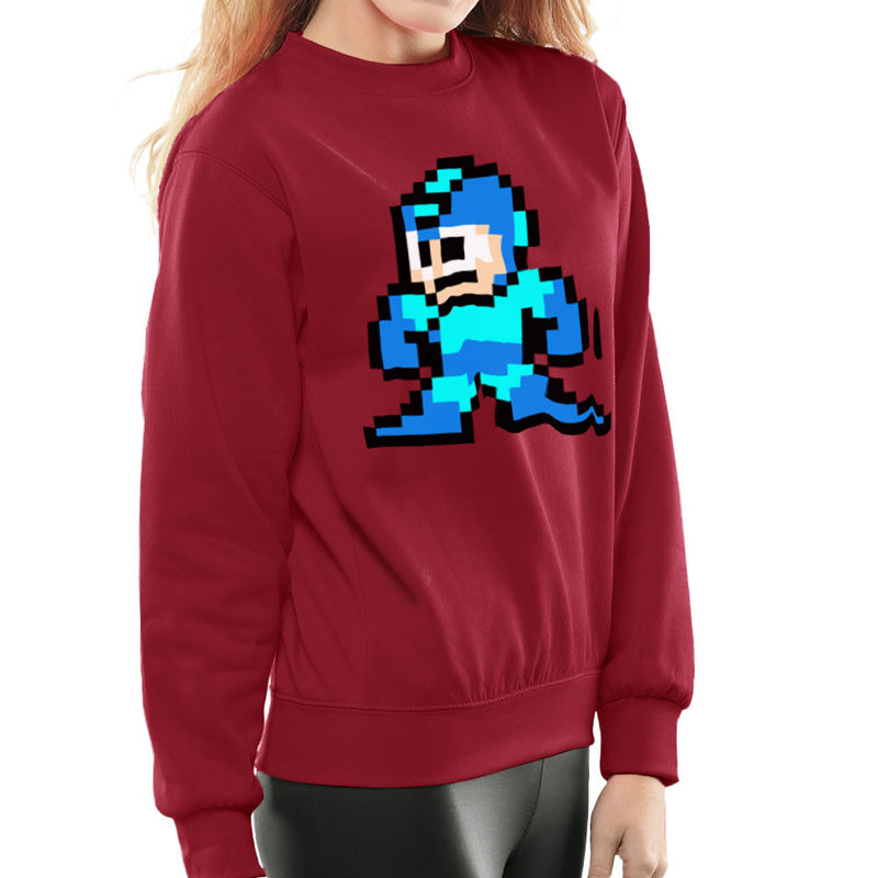 Megaman Pixel Women's Sweatshirt Women's Sweatshirt Cloud City 7 - 15
