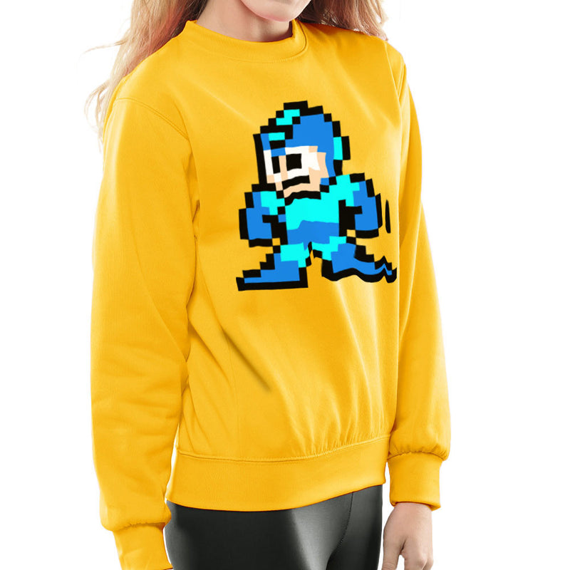 Megaman Pixel Women's Sweatshirt Women's Sweatshirt Cloud City 7 - 18
