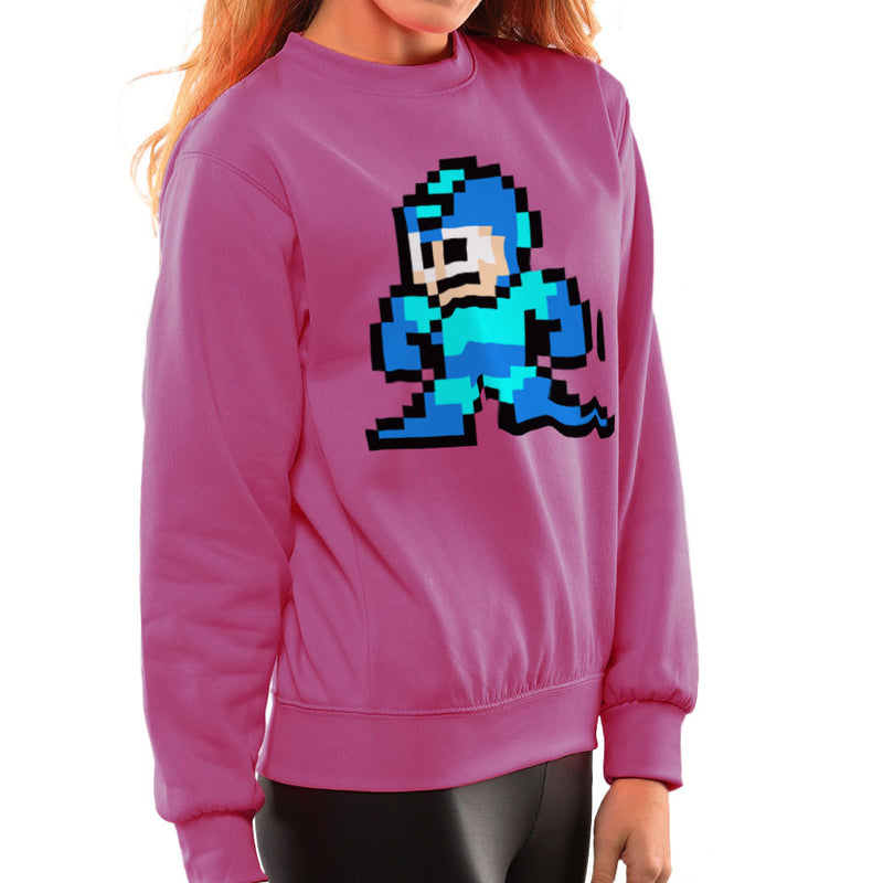 Megaman Pixel Women's Sweatshirt Women's Sweatshirt Cloud City 7 - 20