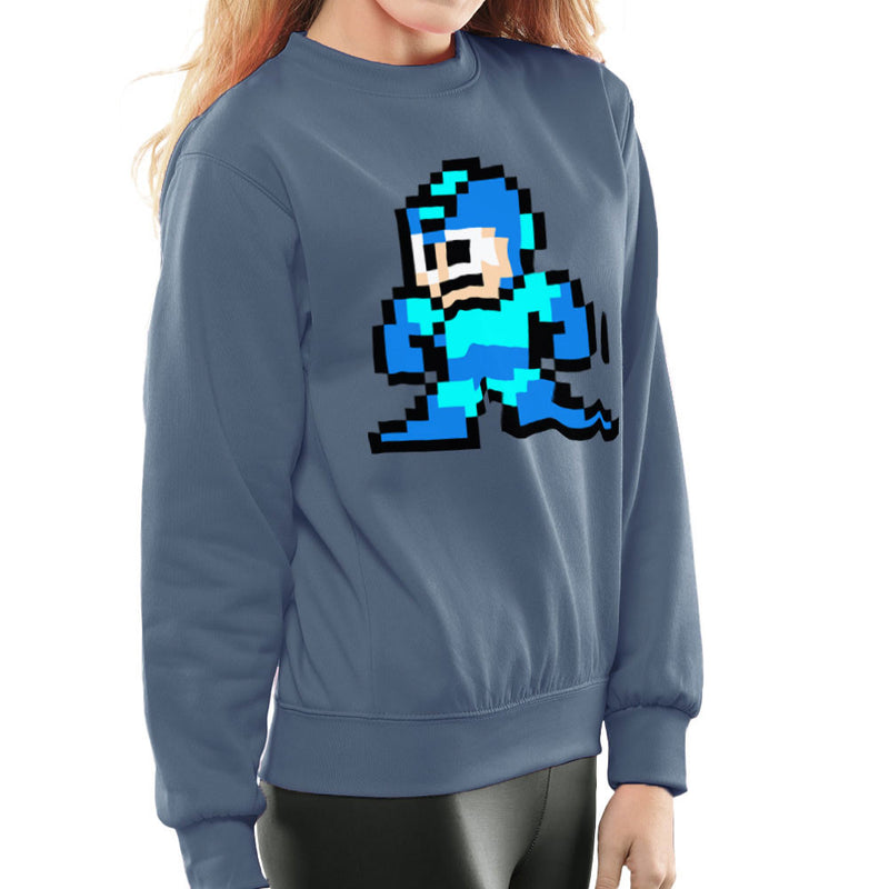 Megaman Pixel Women's Sweatshirt Women's Sweatshirt Cloud City 7 - 9