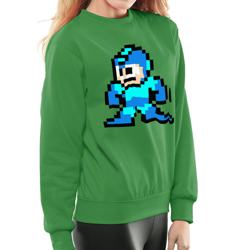 Megaman Pixel Women's Sweatshirt Women's Sweatshirt Cloud City 7 - 14