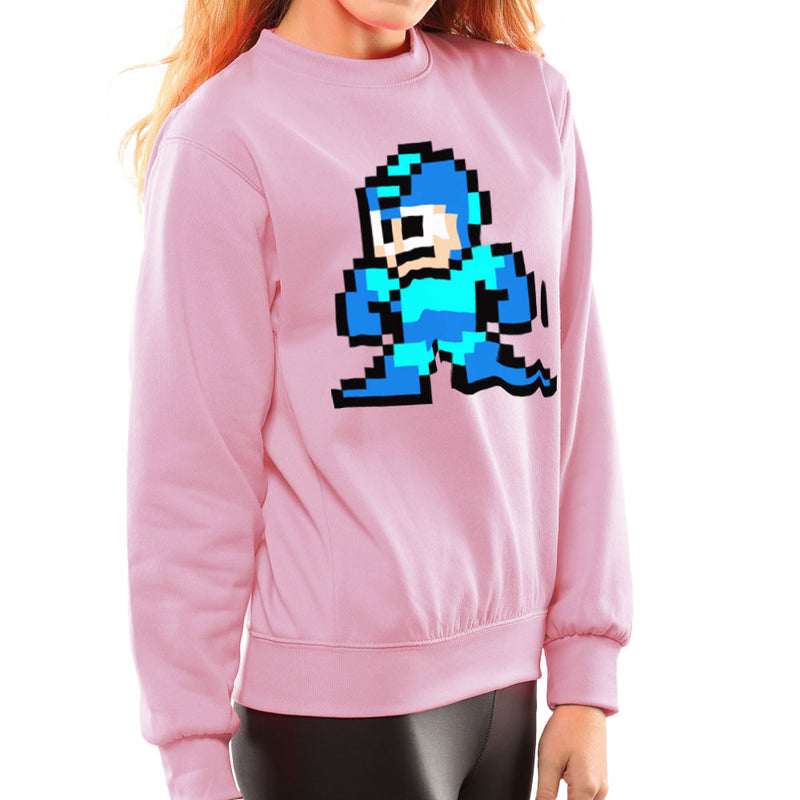 Megaman Pixel Women's Sweatshirt Women's Sweatshirt Cloud City 7 - 21