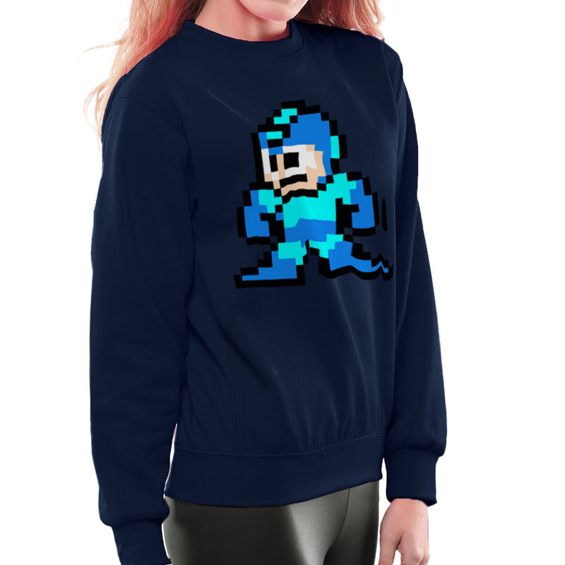 Megaman Pixel Women's Sweatshirt Women's Sweatshirt Cloud City 7 - 7