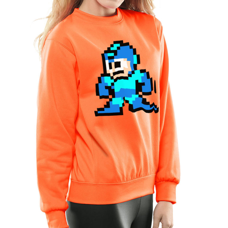 Megaman Pixel Women's Sweatshirt Women's Sweatshirt Cloud City 7 - 17