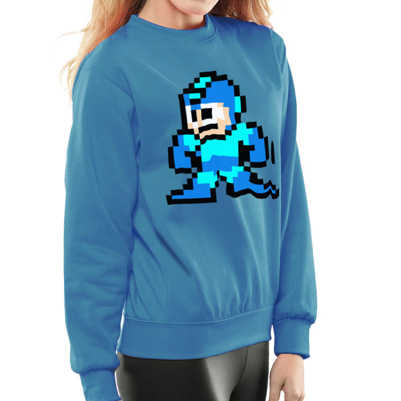 Megaman Pixel Women's Sweatshirt Women's Sweatshirt Cloud City 7 - 1