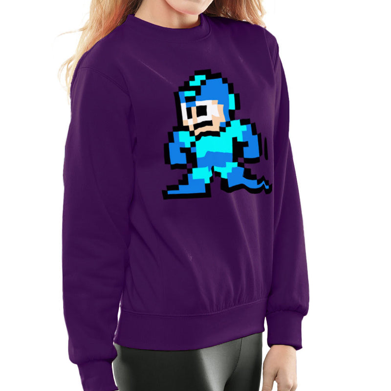 Megaman Pixel Women's Sweatshirt Women's Sweatshirt Cloud City 7 - 19