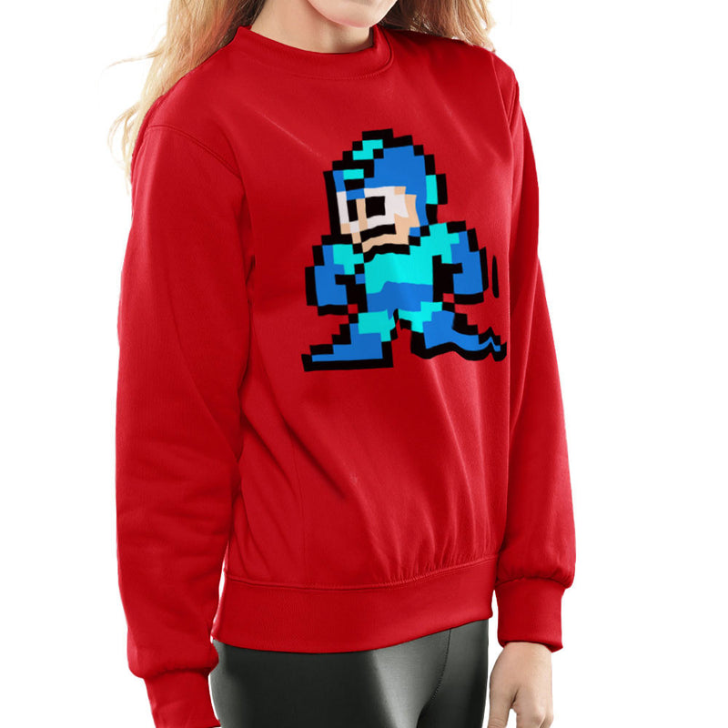 Megaman Pixel Women's Sweatshirt Women's Sweatshirt Cloud City 7 - 16