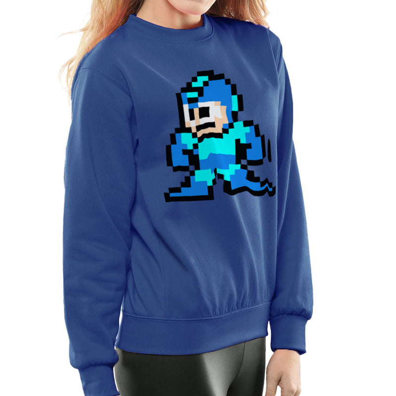 Megaman Pixel Women's Sweatshirt Women's Sweatshirt Cloud City 7 - 8