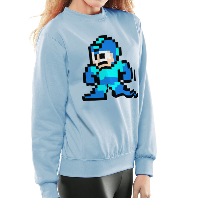 Megaman Pixel Women's Sweatshirt Women's Sweatshirt Cloud City 7 - 11