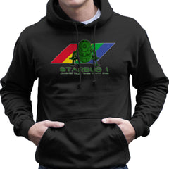 Red Dwarf Starbug 1 Crashed More Than ZX81 Spectrum Men's Hooded Sweatshirt Men's Hooded Sweatshirt Cloud City 7 - 2