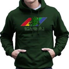 Red Dwarf Starbug 1 Crashed More Than ZX81 Spectrum Men's Hooded Sweatshirt Men's Hooded Sweatshirt Cloud City 7 - 13