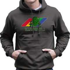 Red Dwarf Starbug 1 Crashed More Than ZX81 Spectrum Men's Hooded Sweatshirt Men's Hooded Sweatshirt Cloud City 7 - 4
