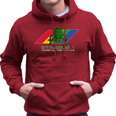 Red Dwarf Starbug 1 Crashed More Than ZX81 Spectrum Men's Hooded Sweatshirt Men's Hooded Sweatshirt Cloud City 7 - 15