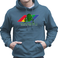 Red Dwarf Starbug 1 Crashed More Than ZX81 Spectrum Men's Hooded Sweatshirt Men's Hooded Sweatshirt Cloud City 7 - 9