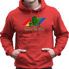 Red Dwarf Starbug 1 Crashed More Than ZX81 Spectrum Men's Hooded Sweatshirt Men's Hooded Sweatshirt Cloud City 7 - 16