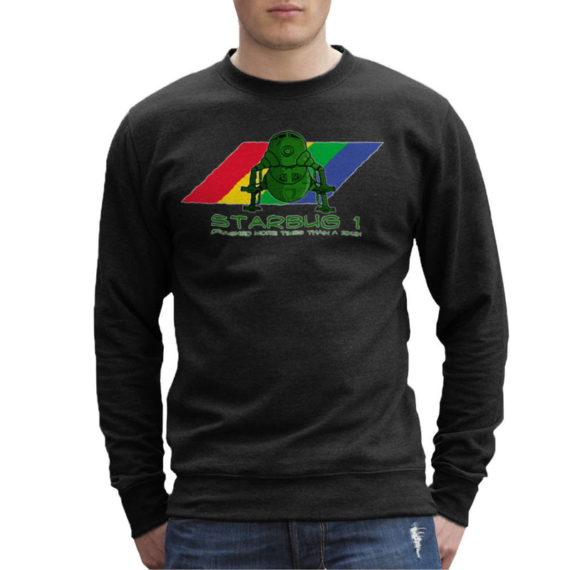 Red Dwarf Starbug 1 Crashed More Than ZX81 Spectrum Men's Sweatshirt Men's Sweatshirt Cloud City 7 - 2