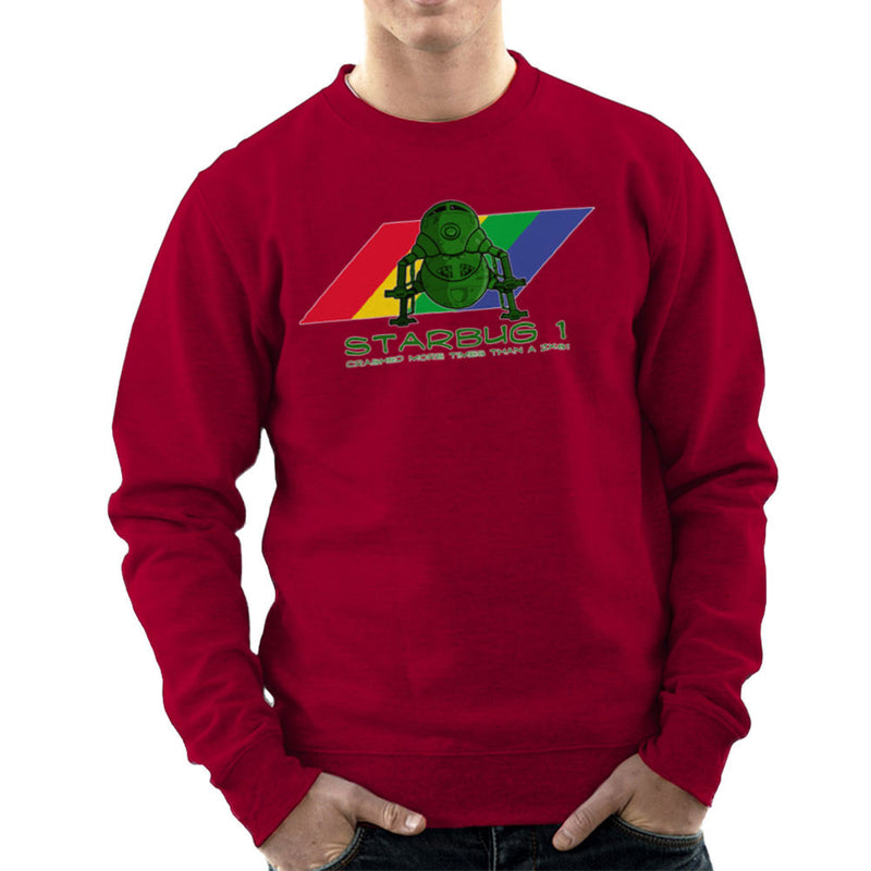 Red Dwarf Starbug 1 Crashed More Than ZX81 Spectrum Men's Sweatshirt Men's Sweatshirt Cloud City 7 - 15