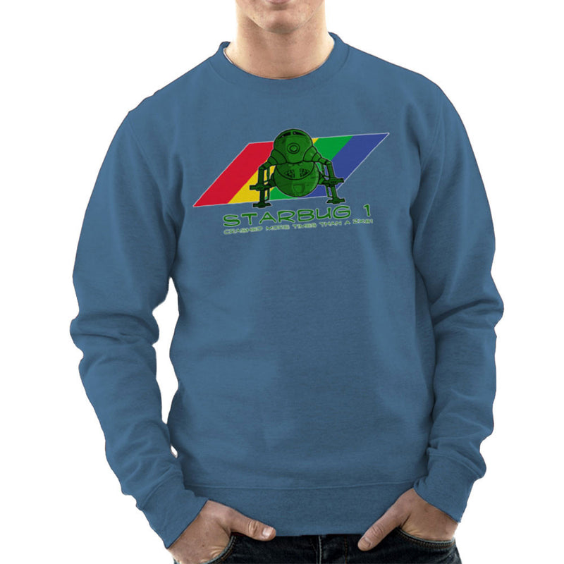 Red Dwarf Starbug 1 Crashed More Than ZX81 Spectrum Men's Sweatshirt Men's Sweatshirt Cloud City 7 - 9