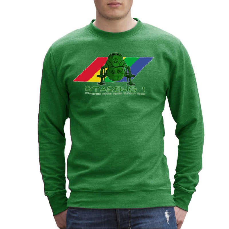 Red Dwarf Starbug 1 Crashed More Than ZX81 Spectrum Men's Sweatshirt Men's Sweatshirt Cloud City 7 - 14