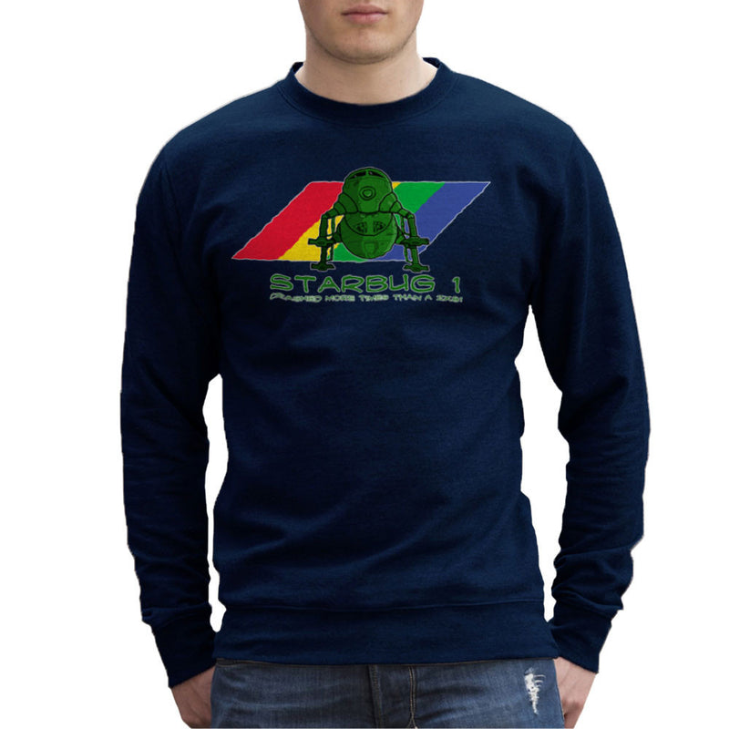 Red Dwarf Starbug 1 Crashed More Than ZX81 Spectrum Men's Sweatshirt Men's Sweatshirt Cloud City 7 - 7
