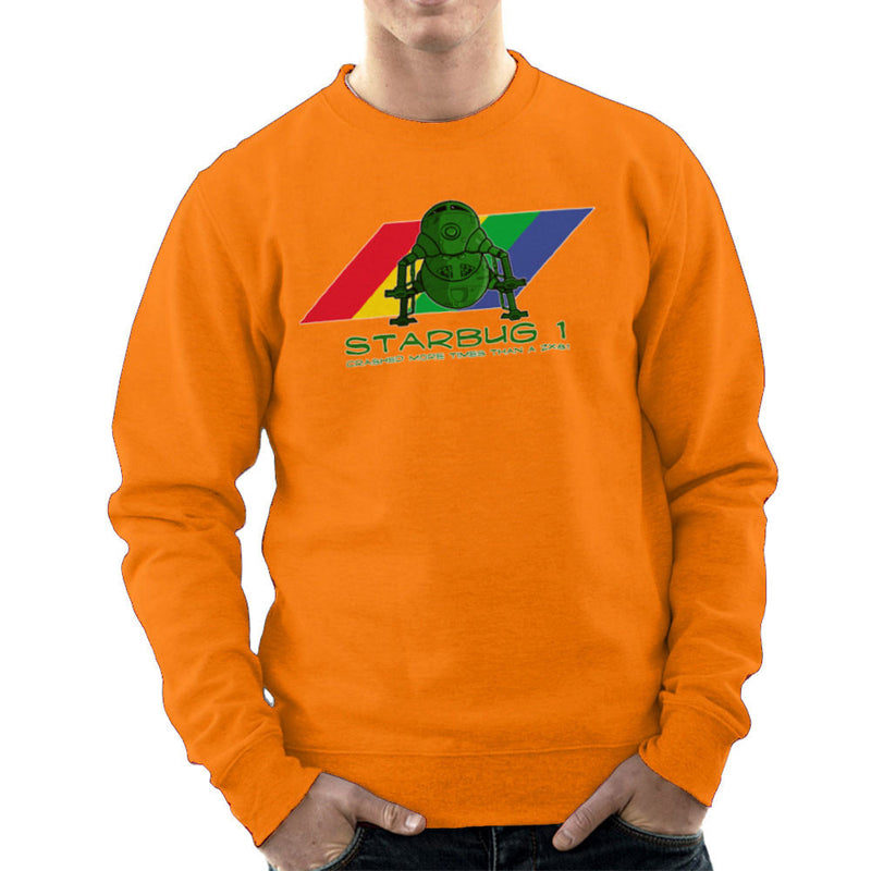 Red Dwarf Starbug 1 Crashed More Than ZX81 Spectrum Men's Sweatshirt Men's Sweatshirt Cloud City 7 - 17
