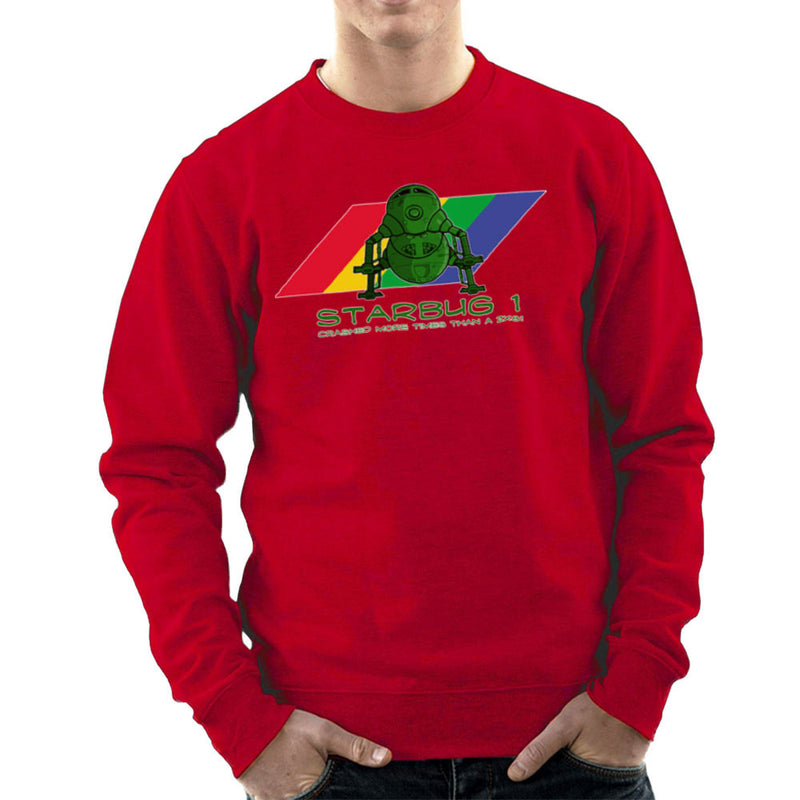 Red Dwarf Starbug 1 Crashed More Than ZX81 Spectrum Men's Sweatshirt Men's Sweatshirt Cloud City 7 - 16