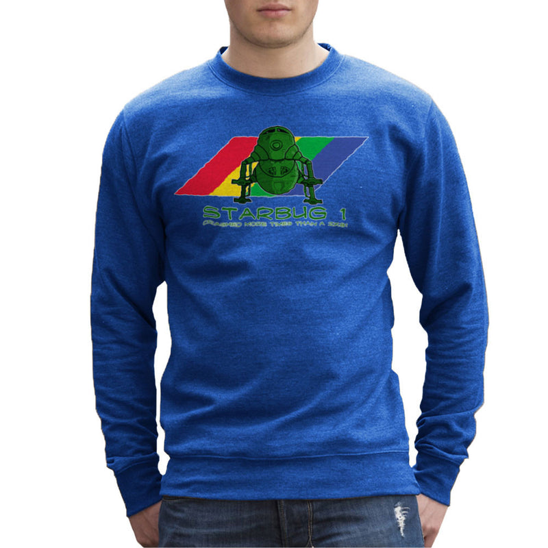 Red Dwarf Starbug 1 Crashed More Than ZX81 Spectrum Men's Sweatshirt Men's Sweatshirt Cloud City 7 - 8
