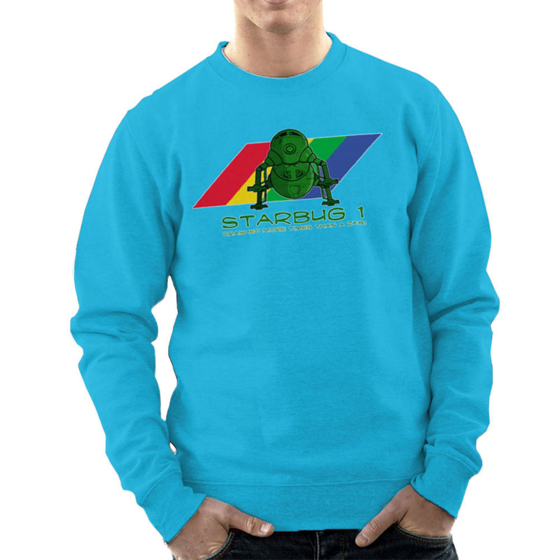 Red Dwarf Starbug 1 Crashed More Than ZX81 Spectrum Men's Sweatshirt Men's Sweatshirt Cloud City 7 - 10
