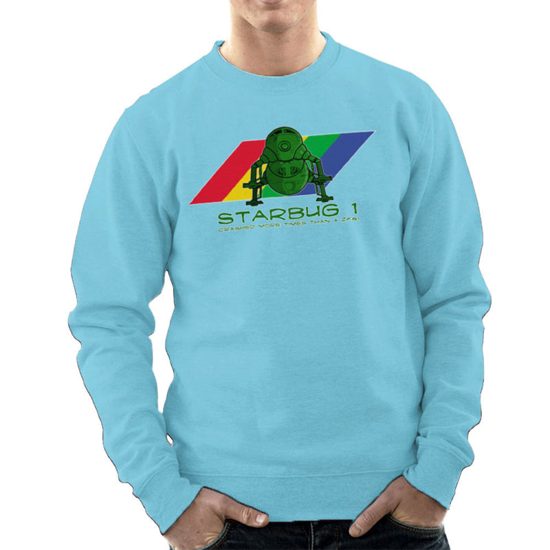 Red Dwarf Starbug 1 Crashed More Than ZX81 Spectrum Men's Sweatshirt Men's Sweatshirt Cloud City 7 - 11