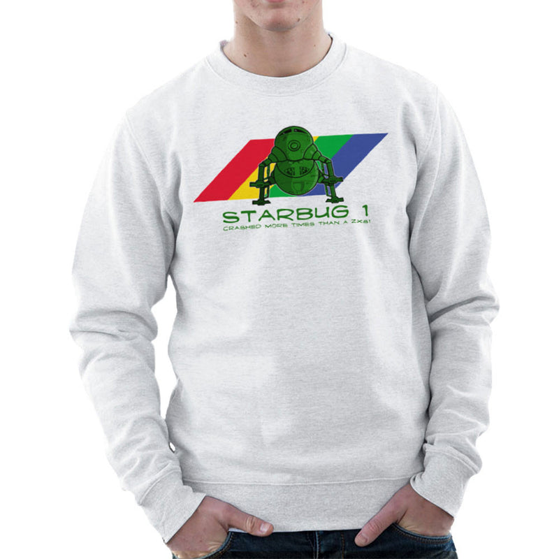 Red Dwarf Starbug 1 Crashed More Than ZX81 Spectrum Men's Sweatshirt Men's Sweatshirt Cloud City 7 - 6