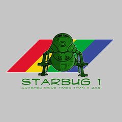 Red Dwarf Starbug 1 Crashed More Than ZX81 Spectrum Men's Hooded Sweatshirt Men's Hooded Sweatshirt Cloud City 7 - 3